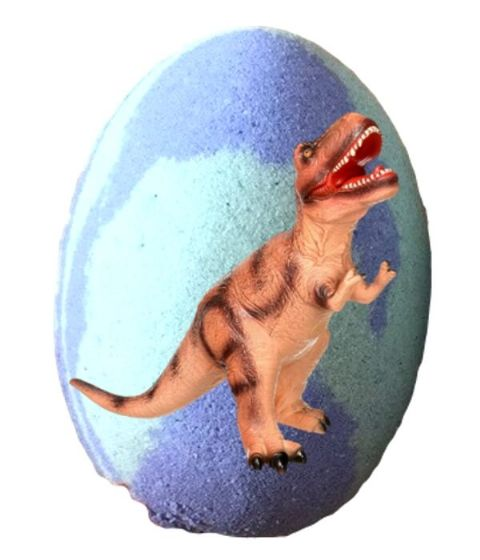 Dinosaur Egg Bath Bomb With Toy Dinosuar Inside